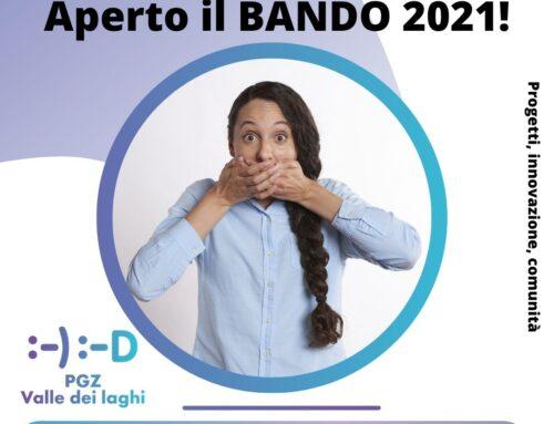 BANDO 2021 – GIOVANI e TERRITORIO